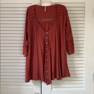 Free People Tunic Shirt/Dress